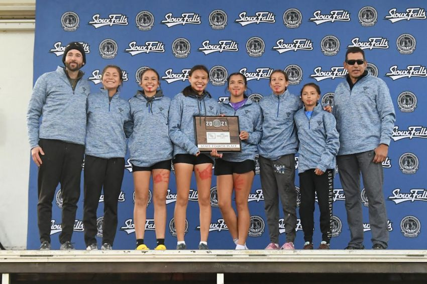 Red Cloud girls earn highest cross-country finish in team history