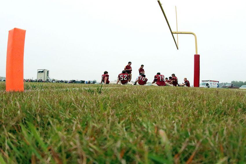 Class 11B, nine-man quarterfinal football playoff pairings