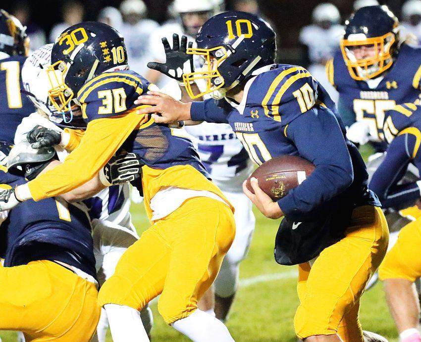 South Dakota high school football statistical leaders through week 9