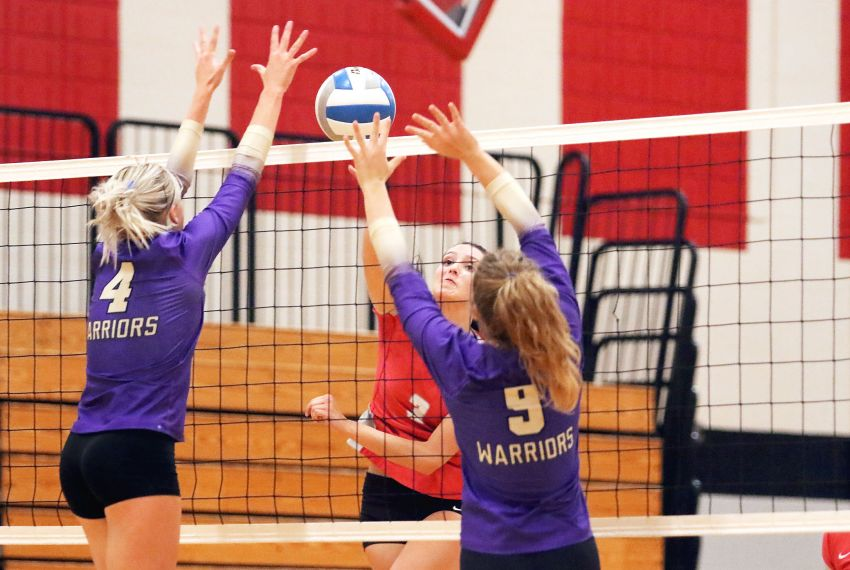 High school volleyball roundup - Wagner sweeps Winner in Tuesday action