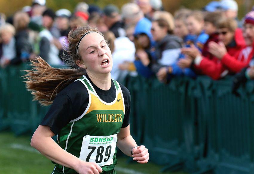Girls state cross-country roundup: Northwestern's Ella Boekelheide captures Class B championship